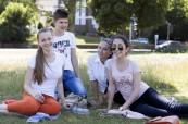 Studenti letního jazykového kurzu na škole EC Brighton