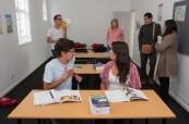 Výuka anglického jazyka je na škole Cape Town vyučována v menších skupinkách, LAL Kapské Město v JAR