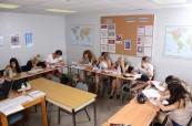 Studenti během výuky anglického jazyka, LAL Fort Lauderdale Florida USA