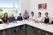 Studenti jazykového kurzu během výuky angličtiny TIS Torquay