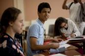 Studenti během výuky anglického jazyka na letním jazykovém programu v zahraničí, ATLAS Dublin Irsko