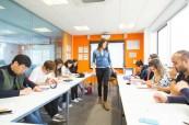 Učebna výuky anglického jazyka EC Brighton