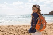 Studentka angličtiny na pláži, EC Malta