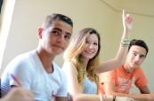 Studenti anglického jazyka ve výuce na škole LAL Malta Sliema