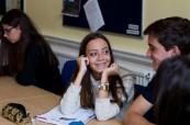 Studenti mají příležitost celý den procvičovat anglický jazyk, BSC Edinrbugh