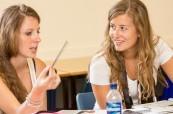 Studentky jazykového kurzu angličtiny na škole ELC Bristol
