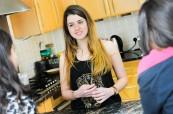 Studenti jsou v hostitelských rodinách velice spokojení a pobyt si užívají, střední škola Brockenhurst College Anglie