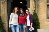 Studenti jazykového kurzu během exkurze, Inlingua Cheltenham