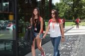 Studentky angličtiny během letního jazykového kurzu, BSC Oxford