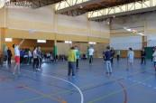 Studenti střední školy Colegio Maravillas během tělocviku