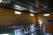 Tělocvična střední školy Colegio Maravillas v Benalmádeně ve Španělsku
