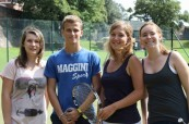 Odpolední tenis po výuce angličtiny na škole English in Chester