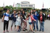 Studenti letního kurzu angličtiny na výletě do Zoo Toronto, ILAC Toronto Kanada