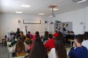Studenti střední školy Colegio Maravillas Benalmádena u Málagy, Costa del Sol, Španělsko