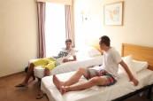 Příklad ubytování, EC St. Julian's Malta