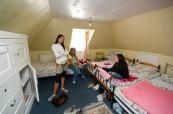 Studentská rezidence se nachází v budově školy LTC Eastbourne