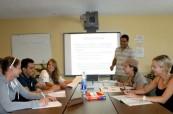 Studenty jazykového kurzu angličtiny výuka baví a rádi se sem vrací, LAL Fort Lauderdale Florida USA
