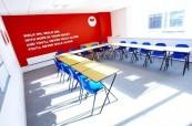 Učebna jazykové školy LILA Liverpool