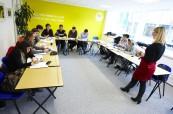 Studenti anglického jazyka během výuky, LILA Liverpool