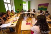 Příjemné prostory jazykové školy ActiLingua ve Vídni v Rakousku