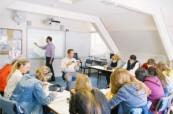 Učebna školy BEET Bournemouth