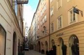 Budova jazykové školy Inlingua v Salzburgu, Rakousko