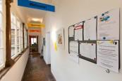 Prostory školy Inlingua Salzburg Rakousko