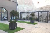Prostory školy jsou opravdu krásné, čisté, moderní i historické zároveň, International House Valencie