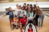 Studenti letního programu pro mládež LTC Eastbourne při volnočasových aktivitách