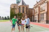 Tenisový turnaj studentů na jazykovém kurzu angličtiny v ELC Bristol