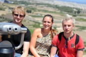 Studenti na výletě po okolí Malty, BELS Malta