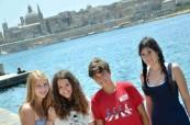 Exkurze do hlavního města Valletta BELS Malta