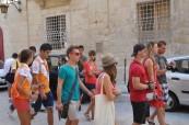 Po výuce angličtiny je potřeba se protáhnout a poznat místo pobytu, EC St. Julian's Malta