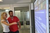 Škola je vybavená interaktivními tabulemi zpestřující výuku anglického jazyka, ACE Malta
