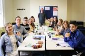 Společné foto studentů na jazykovém kurzu na škole English in Chester