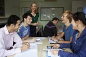 Výuka anglického jazyka studenty baví, Wimbledon School of English