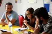 Studenti angličtiny během jazykového pobytu v zahraničí, Meridian School of English