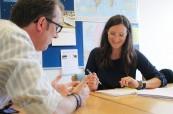 Studentům je věnován individuální přístup v jazykovém kurzu angličtiny pro manažery, English in Chester Anglie