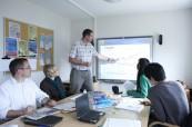 Výuka anglického jazyka probíhá v malých skupinách v moderně vybavených třídách, LAL Torbay