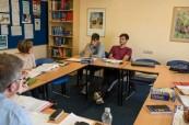 Výuka ančlitiny je profesionálně vedena v malých skupinách Centre of English Studies Harrogate