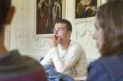Studenti anglického jazyka ve škole LTC Eastbourne