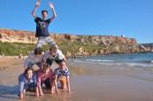 Zábava na nedaleké pláži BELS Malta