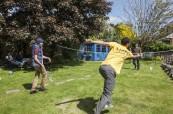 Ke škole CES Oxford patří i zahrada, kterou mohou studenti využívat, CES Oxford
