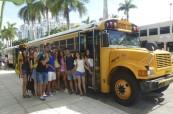 Studenti jazykového kurzu na Floridě na škole LAL